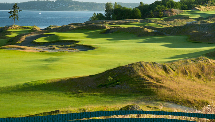 The Road Hole:~Chambers Bay Digs Deep for Open