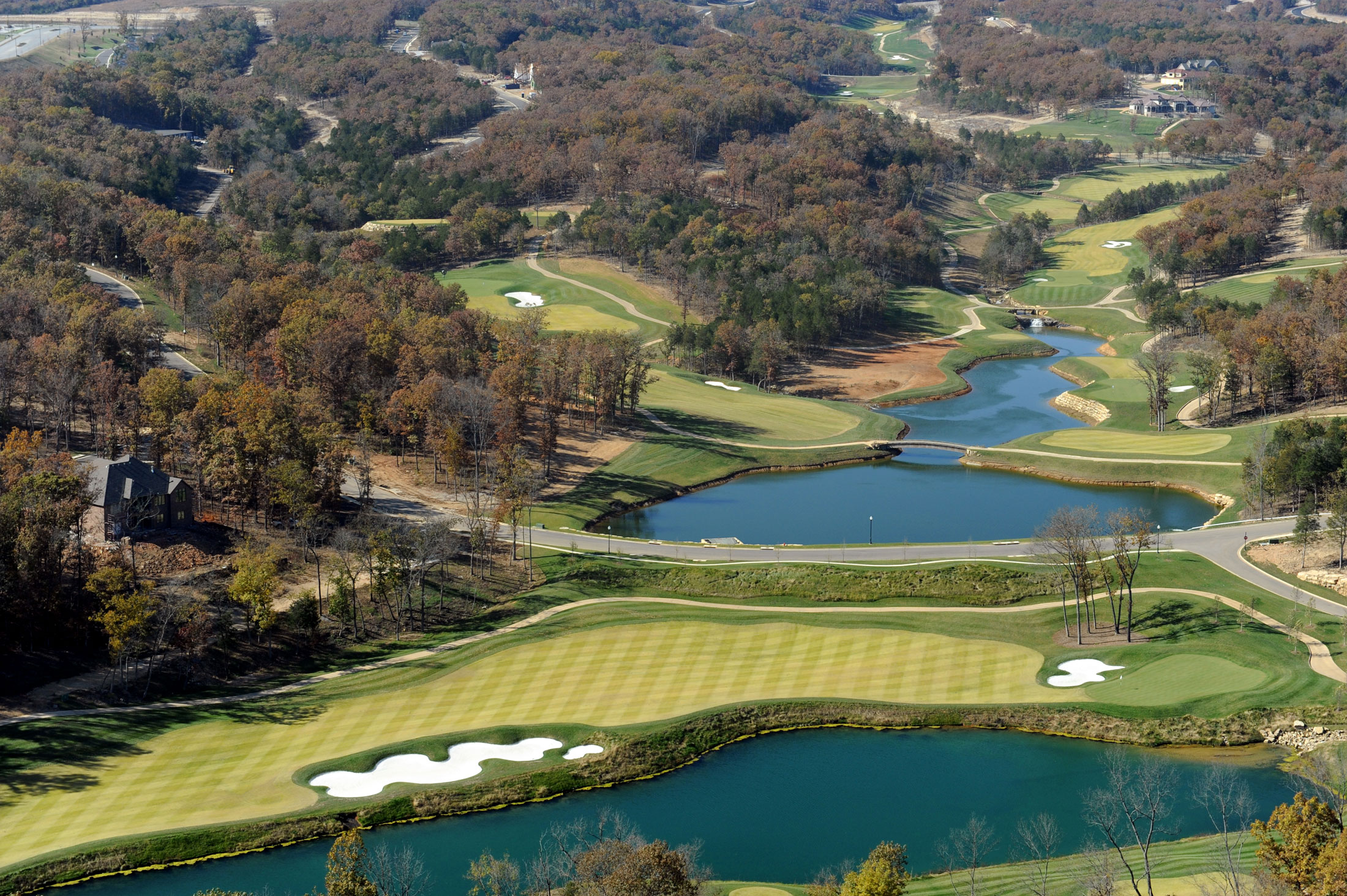 Payne Stewart Golf Club Aerial Course View
