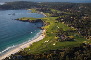 Pebble Beach Golf Links - Joann Dost