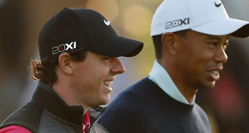 Tiger vs. Rory:~Real or Imagined?