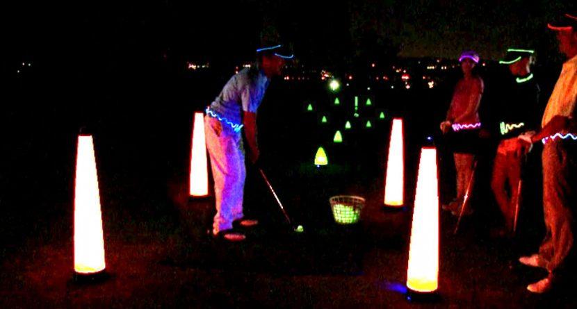 Gearing Up: Laser Glow Golf