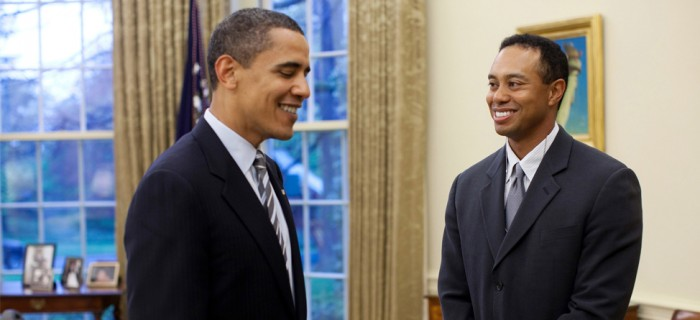 Pro Tips: Tiger and Obama Hit the Links