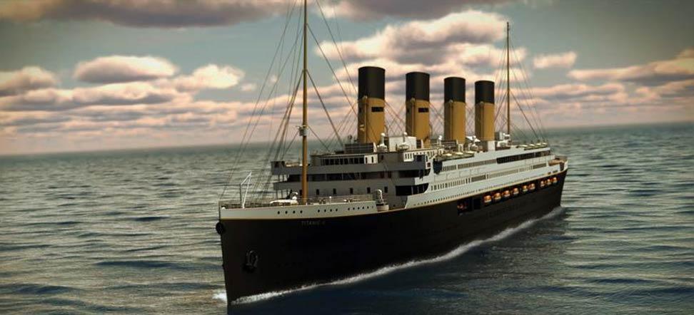 Titanic II Much?