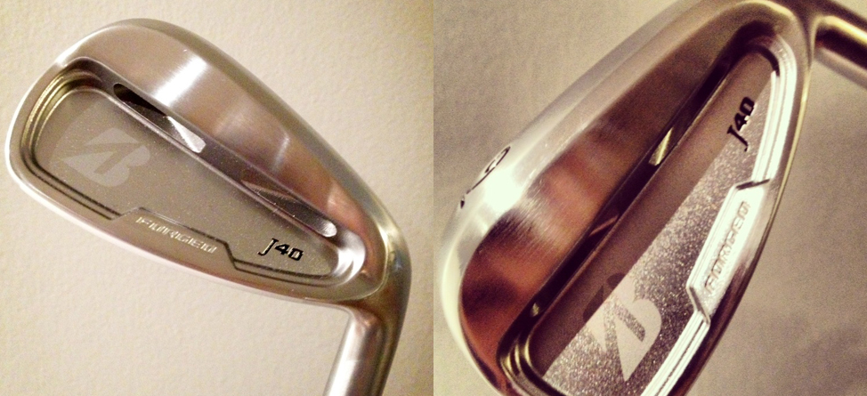 Gearing Up: Bridgestone J40 Cavity Back Irons