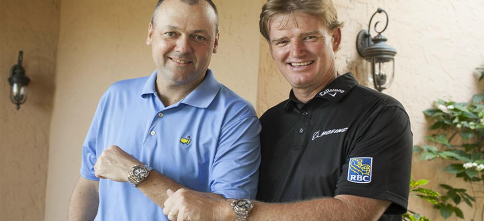 Breitling Teams Up with Els for Autism