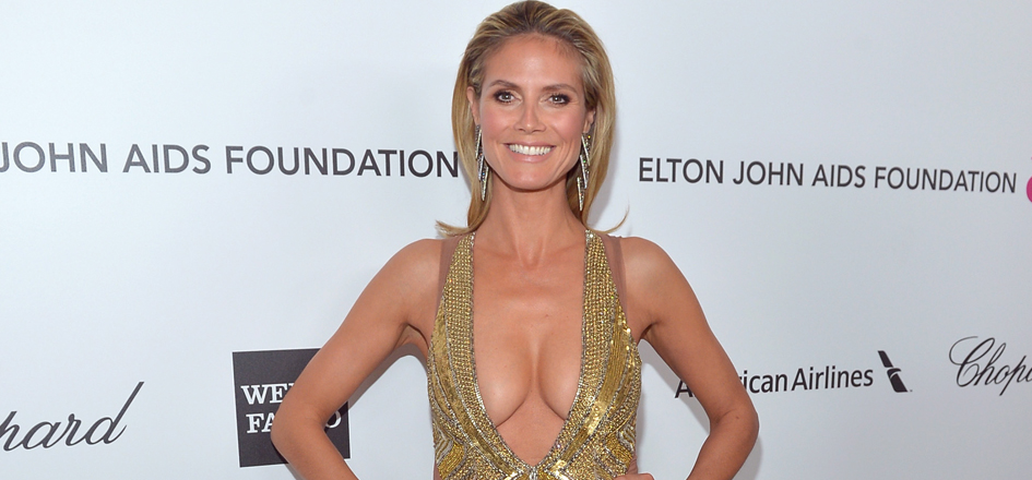 Heidi Klum as Mrs. Robinson in Carl's Jr. Ad