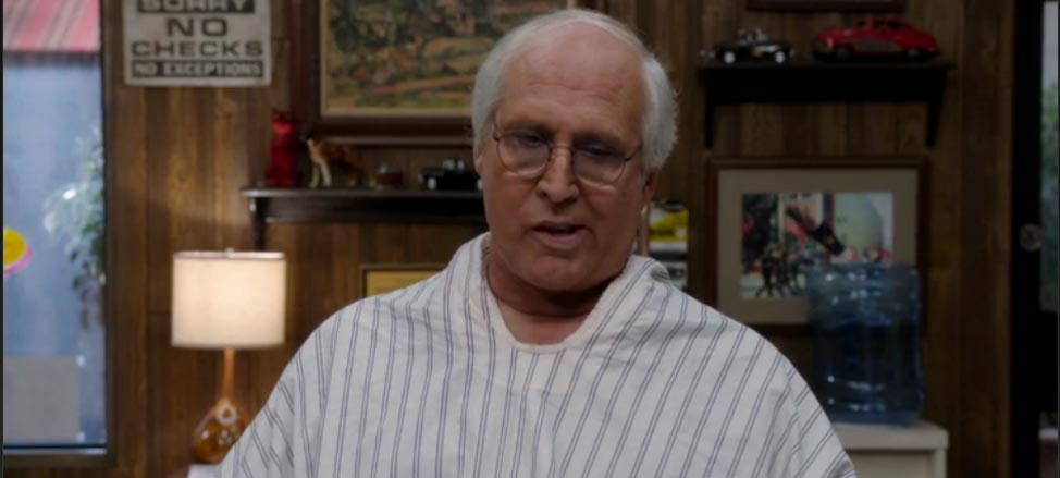 Chevy Chase On Golf Now and Then