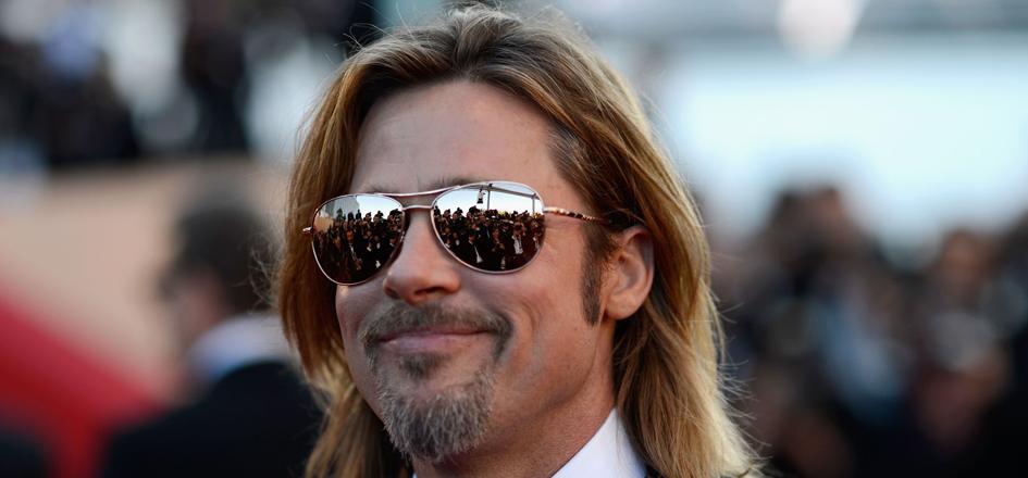Brad Pitt's New Movie Looks … Different