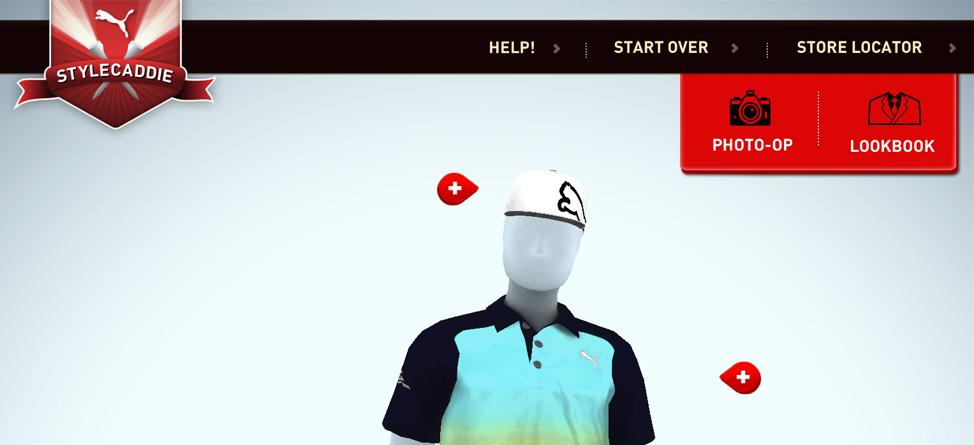 Puma Golf Releases Virtual Dressing Room
