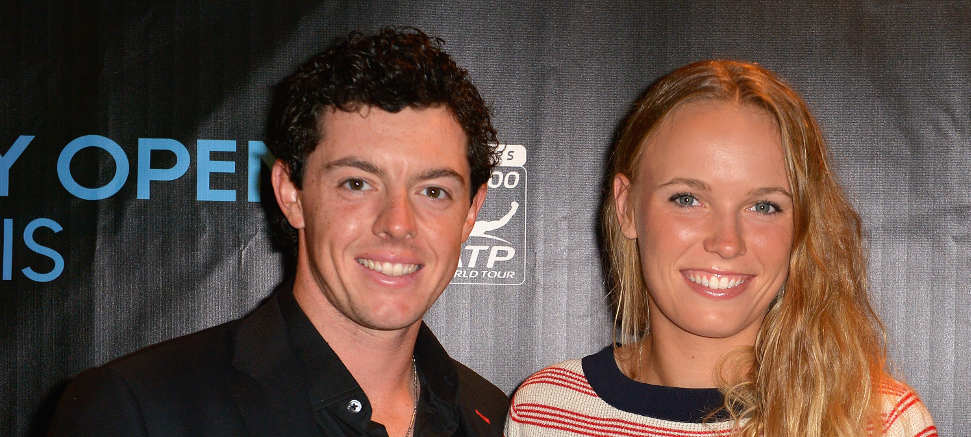 Caroline Wozniacki Dressed As Rory McIlroy