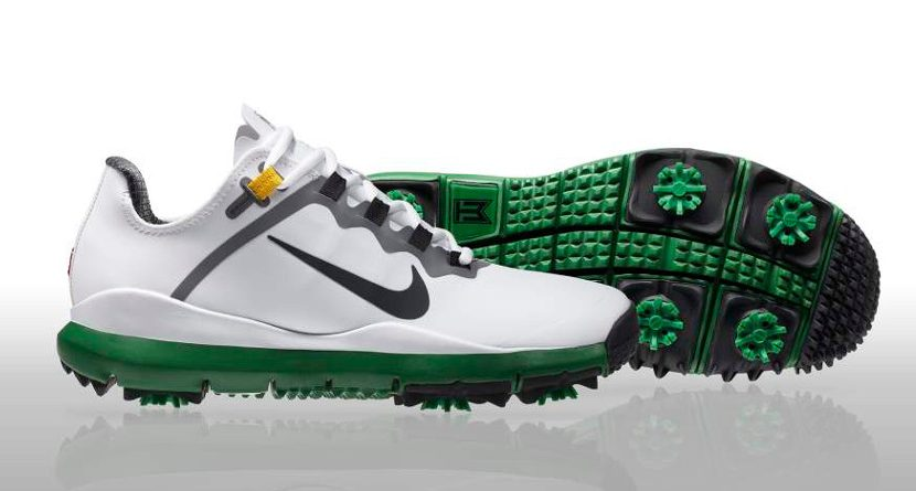 Nike Introduces Masters-Themed Tiger Woods Shoes