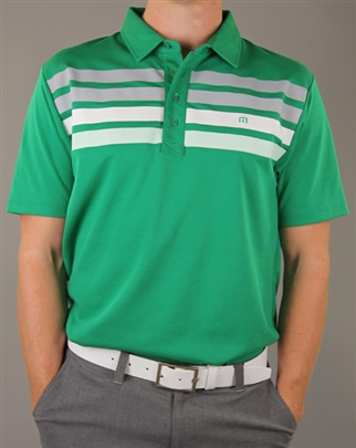 Travis-Mathew-Green-Polo