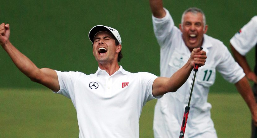 Look Of A Champion: Adam Scott
