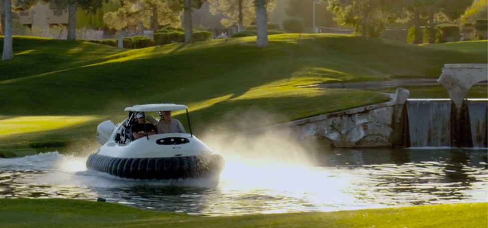 Bubba's Hovercraft Gets a Home