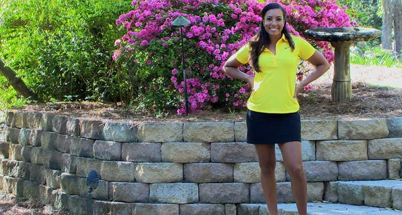 Cheyenne Woods: Masters Saturday Fashion