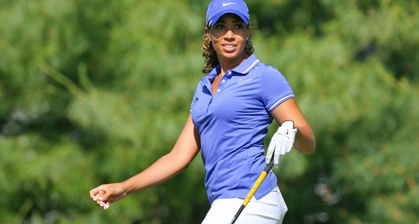 Cheyenne Woods Playing in South African Women's Open