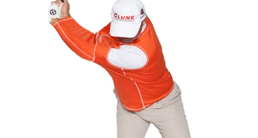 Padraig Harrington Demos The Golf Swing Shirt