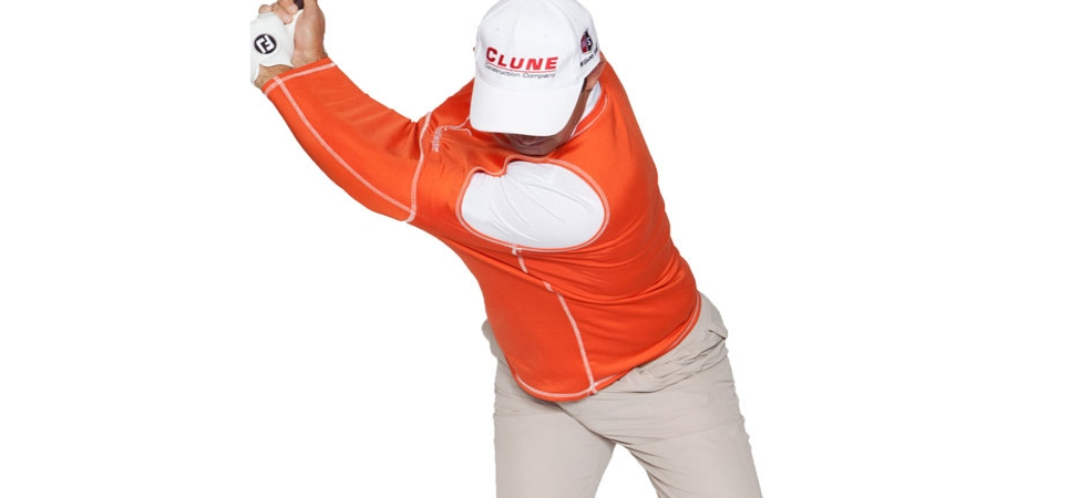 Padraig Harrington Demos The Golf Swing Shirt