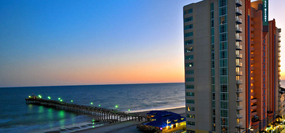 Myrtle Beach Seaside Resorts 'Play Three, One Free'