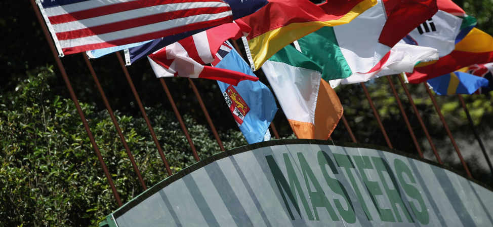 2013 Masters Field Finalized Sunday