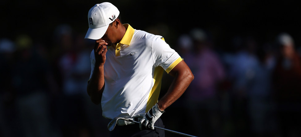 Tiger Woods May Be Disqualified From Masters After Improper Drop