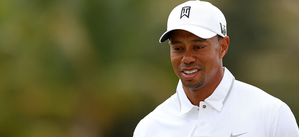 2013 Masters: Tiger Woods' Scripting, Day 2