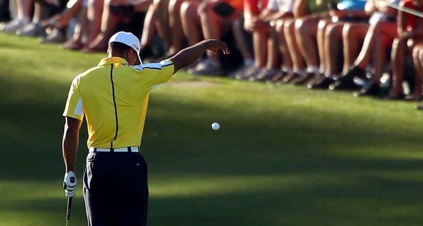 Tiger Woods Not Disqualified For Improper Drop, Penalized 2 Shots