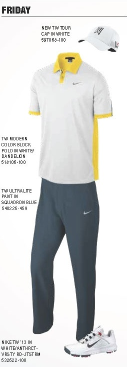 Tiger Woods Scripting Friday