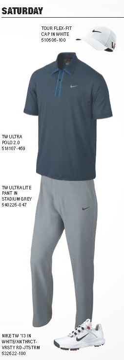 Tiger Woods Scripting Saturday