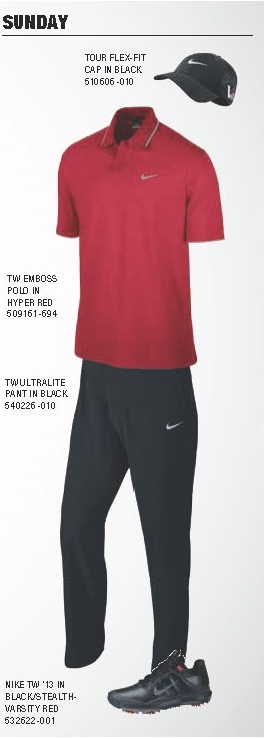 Tiger Woods Scripting Sunday