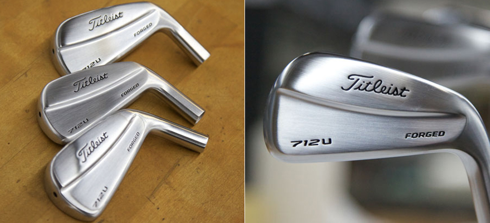 Titleist's 712U Forged Utility Iron