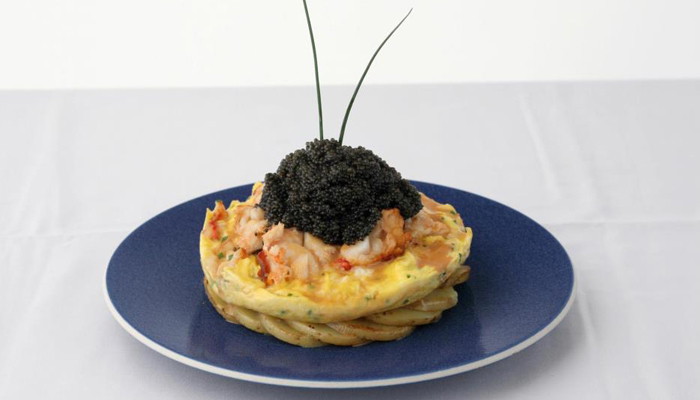 Lobster-Frittata