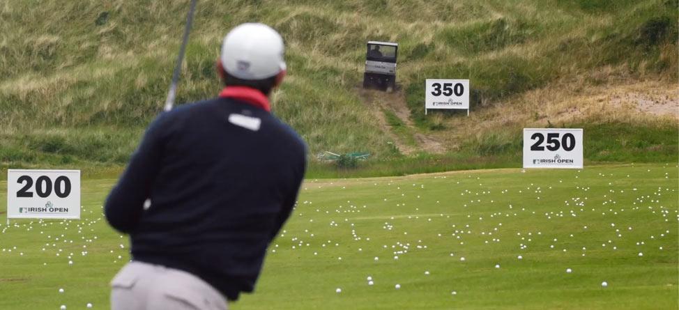 Padraig Harrington Targets The Range-Picker