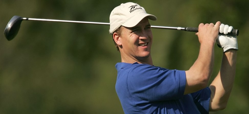 Peyton Manning's Month: Hole-In-One At Castle Pines, 77 At Augusta