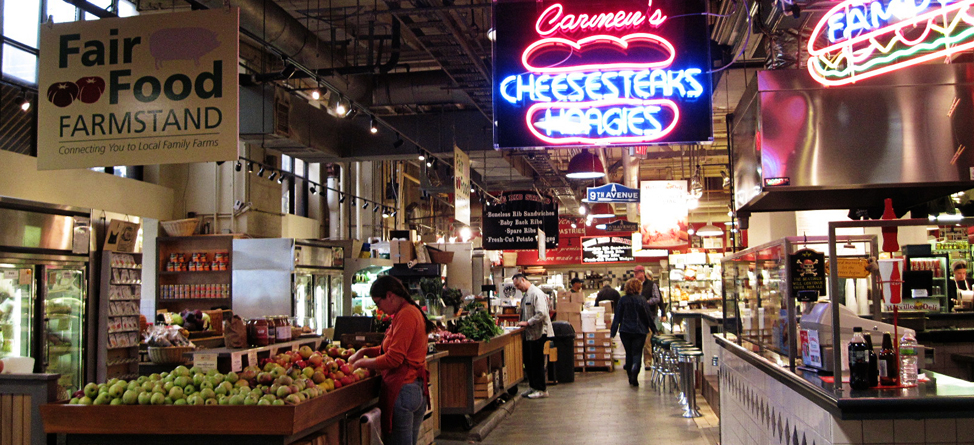 30daysofphilly reading terminal market for Fish market philadelphia