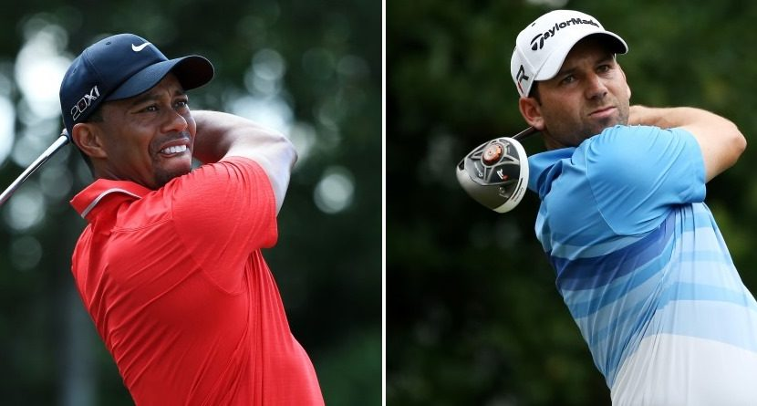 Tiger-Sergio Spat Not Funny Anymore