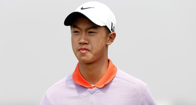12-Year-Old Chinese Golfer Breaks Record