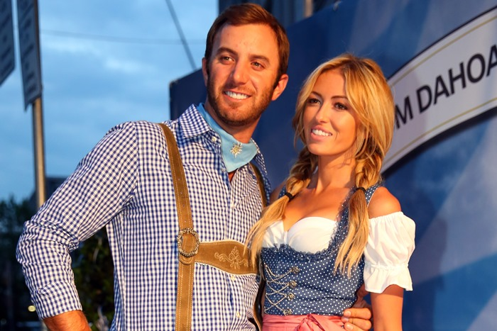 Dustin Johnson Paulina Gretzky
