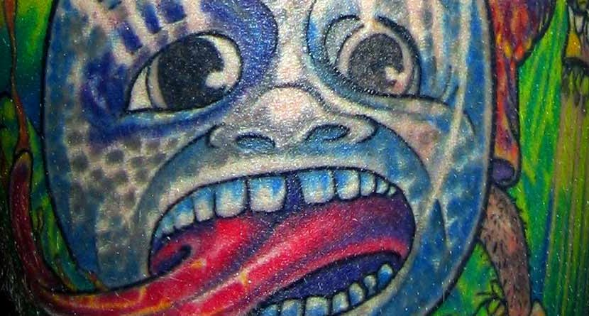 #golfink: Crazy Golf Tattoos