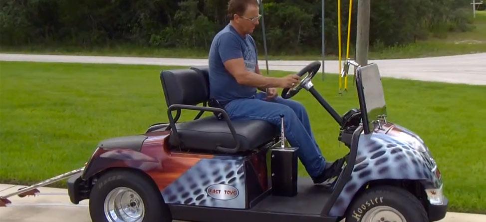 Behold! The 100 MPH Golf Cart!
