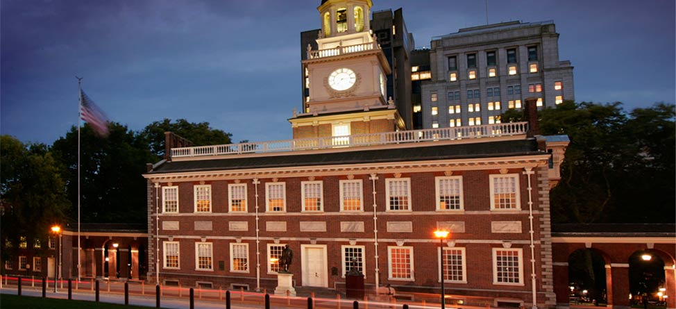 #Back9Philly 14th Hole: Independence Hall