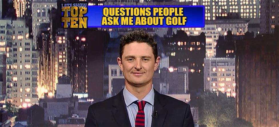 U.S. Open Champ Justin Rose's Top Ten List