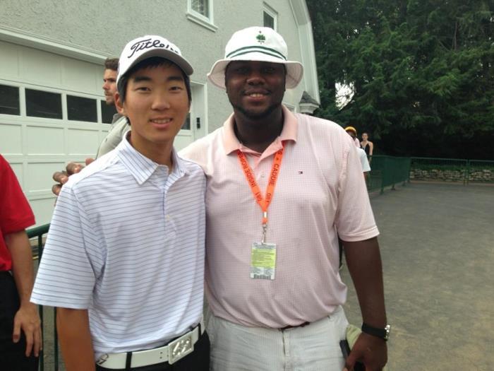 LaRue Temple and Michael Kim