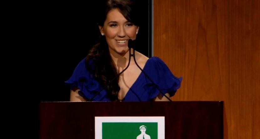 VIDEO: Ouimet Scholarship Winner's Inspirational Speech at Centennial Gala