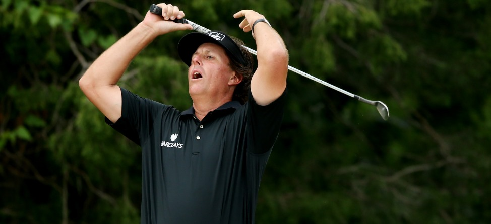 A Look Back: Phil Mickelson's Six U.S. Open Runner-Up Finishes