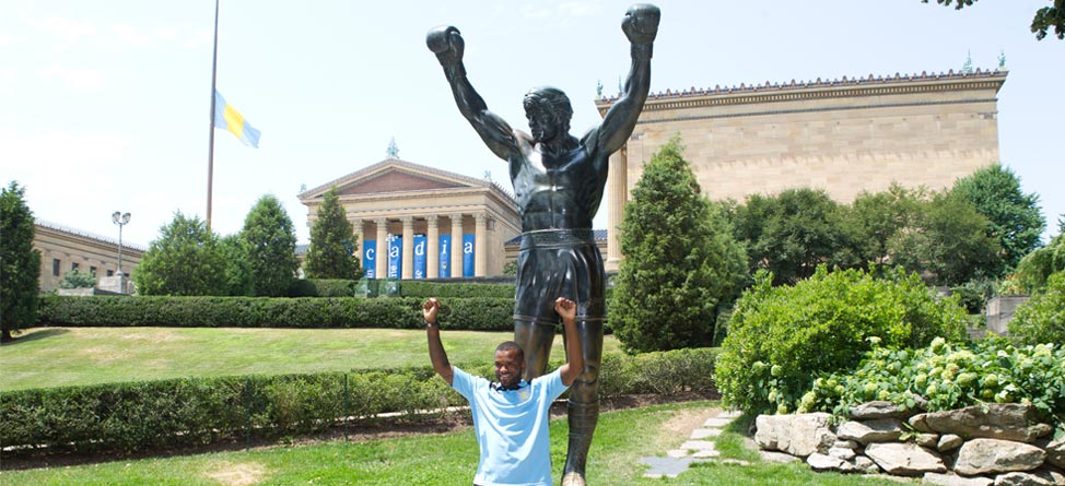 #Back9Philly 17th Hole: Rocky Steps