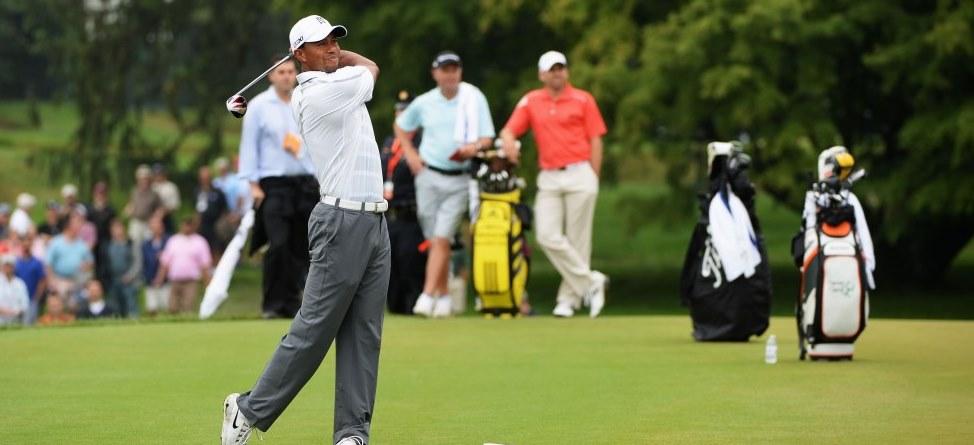Sergio, Tiger Shake Hands; Boos To Follow?