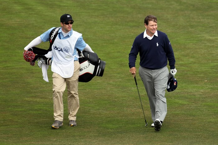 Tom Watson and son
