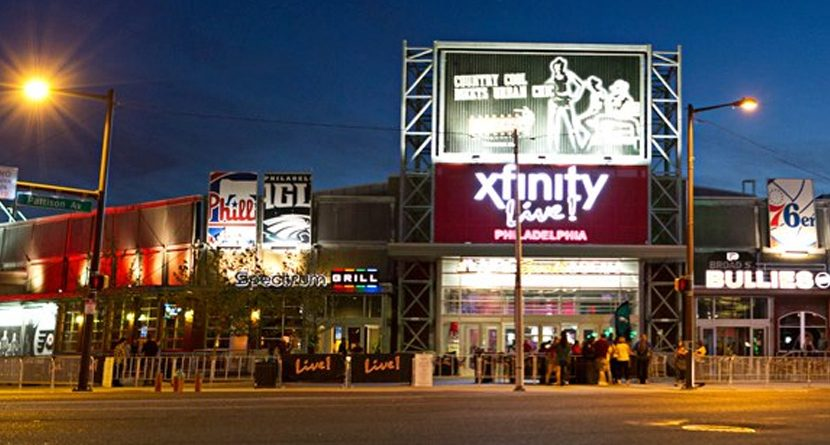 #Back9Philly: Xfinity Live!