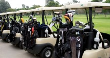 Angry Golfer Hits Fellow Golfer With His Golf Cart